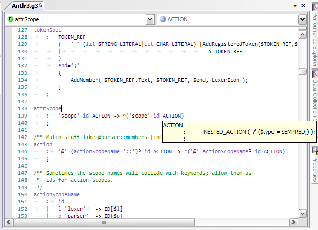 antlr c++  for windows 7